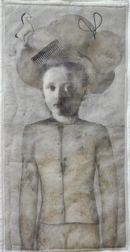 filo, materia tessile - cm 120x60